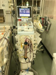 図18:救命救急病棟での血漿交換